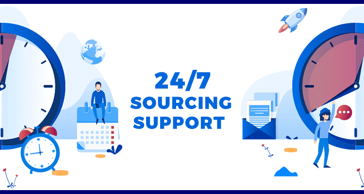 24/7 SOURCING SUPPORT OVERVIEW
