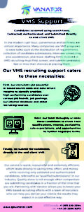 VMS Recruiting Support Overview 1